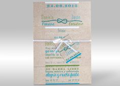 Invitaciones de boda - You and Me