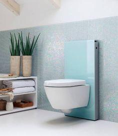Construindo Minha Casa Clean: Vasos Sanitários Suspensos! Veja Banheiros e Lavabos Super Modernos!