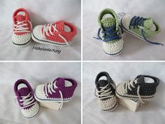Häkelanleitung Baby, Diy Crochet, Crochet Ideas, Crotchet, Crochet Stitches, Baby Items, Diy And Crafts, Baby Shoes, Projects To Try