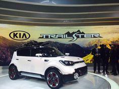 The Kia Trail'ster is here. Kia Soul 2015, Fuel Efficient Cars, Kia Motors, Cute Cars, My Ride, Maserati, Concept Cars, Muscle Cars, History