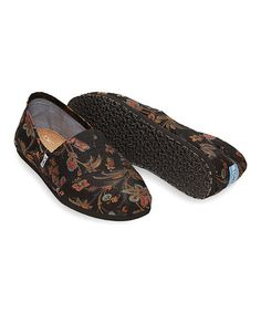 Look what I found on #zulily! Black Floral Paisley Classics #zulilyfinds