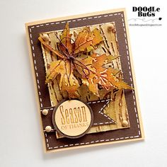 Doodlebugs: Tim Holtz- Alterations Layered Leaf