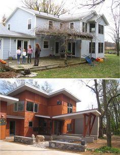 Реконструкция сельского дома (Renovation Farmhouse) в США от Reader & Swartz…