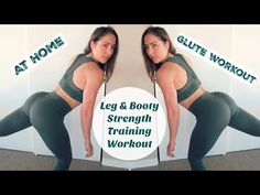 NO SQUAT (or lunge) GLUTE WORKOUT // plus 10 min HIIT Cardio FINISHER - YouTube