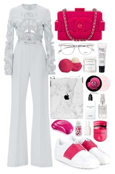 """""""Sans titre #589"""" by perrinee-e ❤ liked on Polyvore featuring Elie Saab, Valentino, Chanel, Herbivore, Essie, philosophy, Eos, Bobbi Brown Cosmetics, Tangle Teezer and Sephora Collection"""