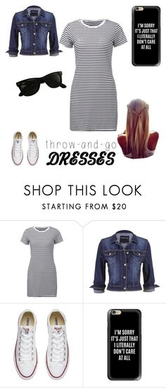 """throw and go"" by a-hidden-secret ❤ liked on Polyvore featuring maurices, Converse, Casetify and Ray-Ban"