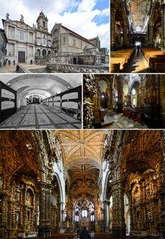 Church of São Francisco and Catacombs, Porto, Portugal