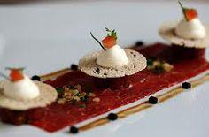 Carpaccio of Beef Chef Daniel Galmiche