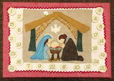 Nativity Advent Calendar by Bustle & Sew