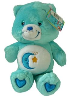 */ Care Bears! Bedtime bear! he was my favorite. Still have my Good Luck bear