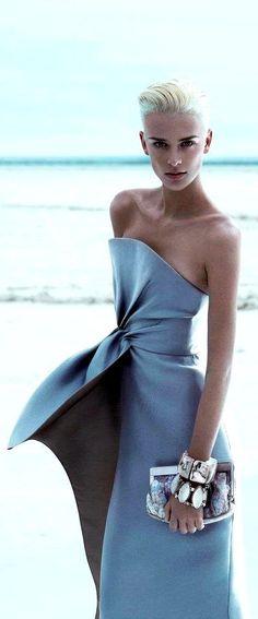 Armani gown.