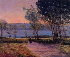 Landscape by the Water - Maxime Maufra