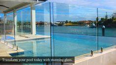 Glass Pool Fencing, Pool Fence, Brisbane, Australia, Cgi, Outdoor Decor, Stage, Construction, Display
