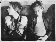 """The arms of Richard Hell and the neck of Tom Verlaine were so entrancing that I needed no more art, music, life, love or poetry to make me happy after that. They were the most gorgeous thing I'd ever seen… Tom Verlaine's skin and Richard Hell's skin were in a class of like """"God made that and then threw away the skin formula."""" -- Danny Fields rhapsodizes about seeing the first incarnation of Television in Legs McNeil's """"Please Kill Me."""""""