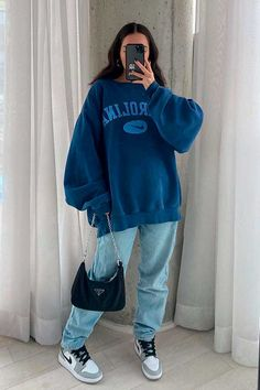 Adrette Outfits, Style Outfits, Indie Outfits, Teen Fashion Outfits, Retro Outfits, Cute Casual Outfits, Outfits With Jordans, Vintage Outfits, Fashion Mode