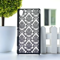 Palace Paper Cut Flower Pattern Henna Floral Retro mobile phone skin case Cover For Sony Xperia M4 Aqua Dual E2303 Hard shell