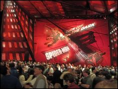 Take the kids to see Spiderman The Musical & Times Square in New York City.