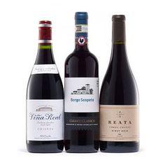 90+ Point Red Wine Trio