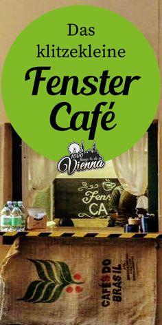 Im kleinsten Café in Wien bestellst du am Fenster. Vienna, Coffee, Secret Places, Coffee Cafe, Windows, Voyage, Drinking, Kaffee, Cup Of Coffee