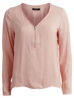 VIMEX - LONG SLEEVED TOP, Apricot Blush