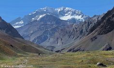 Mount Aconcagua Panorama 2