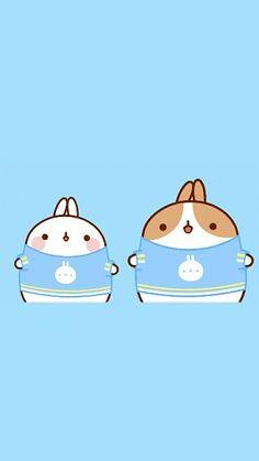 Cute Molang & Friend