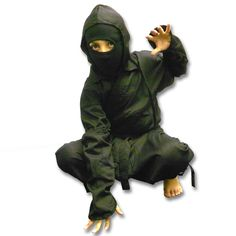 Kids Ninja Uniform now available at http://www.karatemart.com/