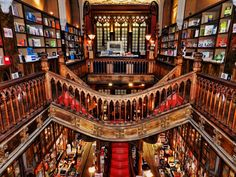 Livraria Lello e Irmão, Oporto, Portugal – Lello Library – Portugal Porto Portugal, Spain And Portugal, Literary Travel, Cheap Places To Travel, Travel Advisory, Rest And Relaxation, Cheap Hotels, Boat Tours, Romantic Getaway