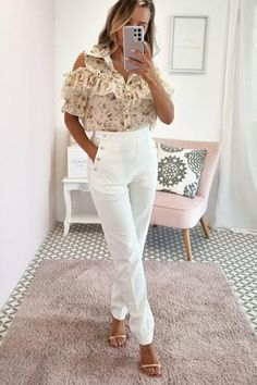 Oh Hello Clothing, White Jeans, Jumpsuit, Fabric, Pants, Label, Buttons, Color, Pockets