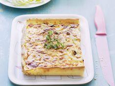 Découvrez la recette Quiche au comté et aux oignons sur cuisineactuelle.fr.