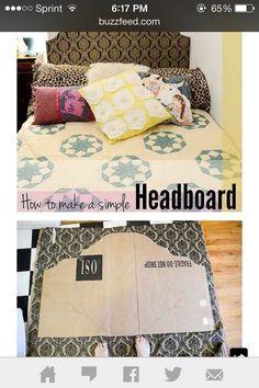 Diy head board