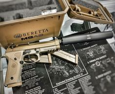 Beretta M9A3 with Ranger 19D suppressor @hankstrange