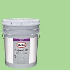 5 gal. #HDGG41D Frosted Lime Eggshell Interior Paint