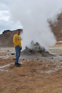 Travel the World with Annie and Nick: Iceland-steam vents, mud pools, wierd rock formations