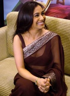 Rani Mukherjee. her smile is so genuine