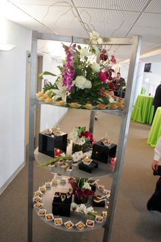 Blog - Culinary Crafts  Vertical Buffet Service-small plates