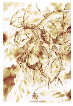 Dance with Dragons Daenerys by ~0KiWi0