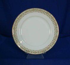 Charles Ahrenfeldt Limoges France AHR350 White Bread & Butter Plate rgs0007 #CharlesAhrenfeldt