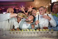 Shot, shot, shot! Well, let's just drink from the bottle! Wedding Reception Photography in Riviera Maya by WeddingDayStory, Destination Wedding Photography in Mexico, Costa Rica and Dominican Republic! Celebrating the Simple Romance of Weddings in the Sun. Visit us!    www.weddingdaystory.com