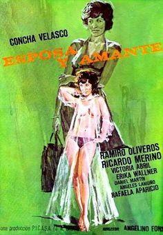 Esposa y amante 1977 Con Concha Velasco, Ramiro Oliveros, Ricardo Merino, Victoria Abril, Erika Wallner,Antonio Gamero