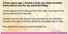 Made me cry