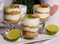 Limetkový dezert – U Miládky v kuchyni Tiramisu, Cheesecake, Pudding, Ethnic Recipes, Food, Mascarpone, Cheesecakes, Custard Pudding, Essen