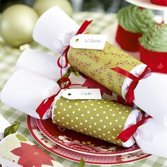 Add a homemade touch to your festive dining table