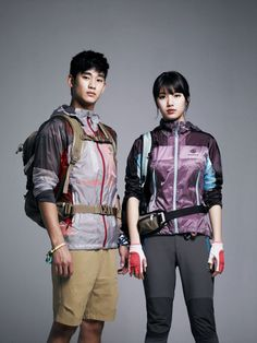 Fresh Batch Of Bean Pole Outdoor S/S 2013 Ads With Kim Soo Hyun & Suzy   Couch Kimchi
