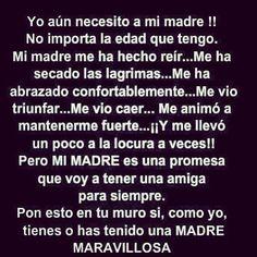 #laamomadre #mejoramiga #graciasDiosporElla