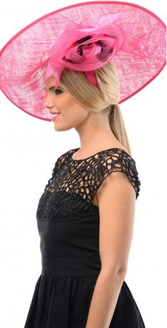 Pink Melbourne Cup Fashion, Wedding Fascinators, Wedding Cups, Formal Dresses, Pink, Dresses For Formal, Formal Gowns, Wedding Mugs, Formal Dress