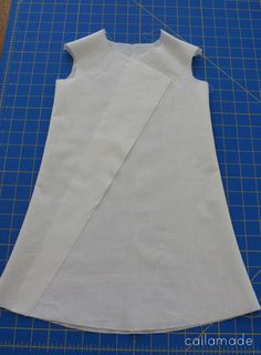 Wrap front dress pattern drafting