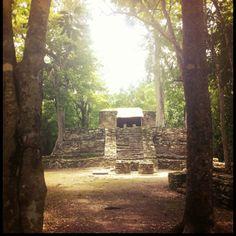 Muyil, Chunyaxche ruins