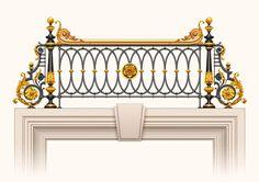 Фотография Steel Railing Design, Balcony Railing Design, Staircase Design, Grill Door Design, Door Gate Design, Front Door Design, Wrought Iron Handrail, Metal Railings, Interior Stair Railing