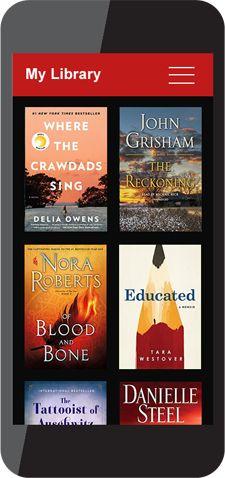 phone apps Blood And Bone, John Grisham, Nora Roberts, James Patterson, Free Apps, Audiobooks, Reading, Phone, Telephone